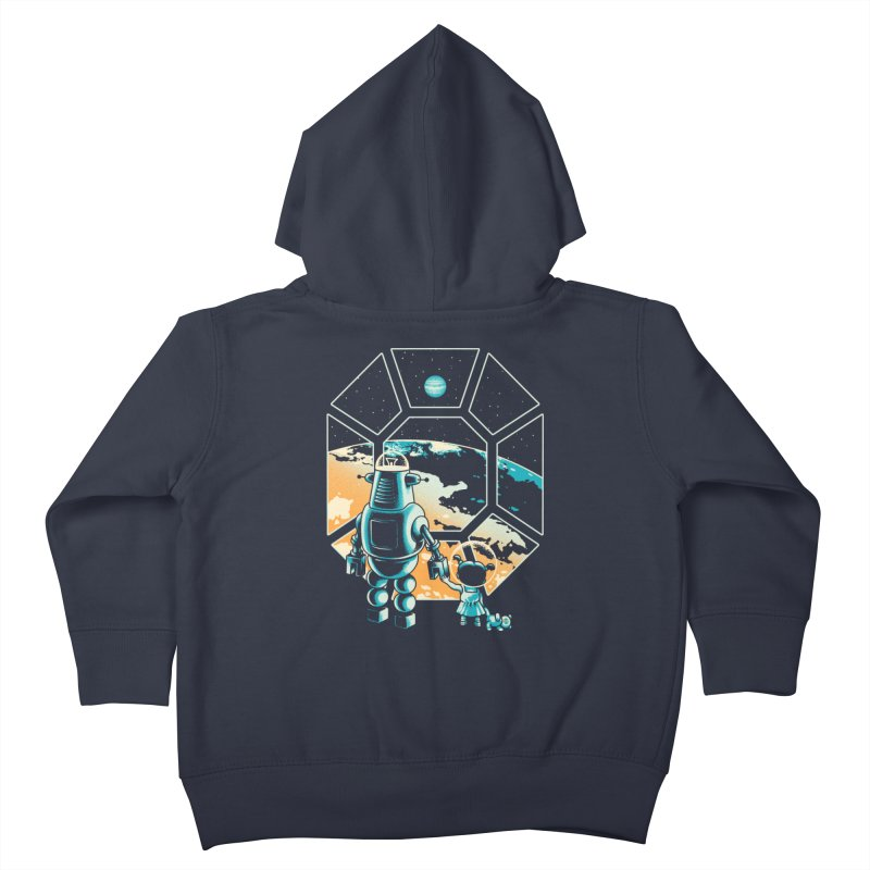 A New Hope Kids Toddler Zip-Up Hoody by Santiago Sarquis's Artist Shop