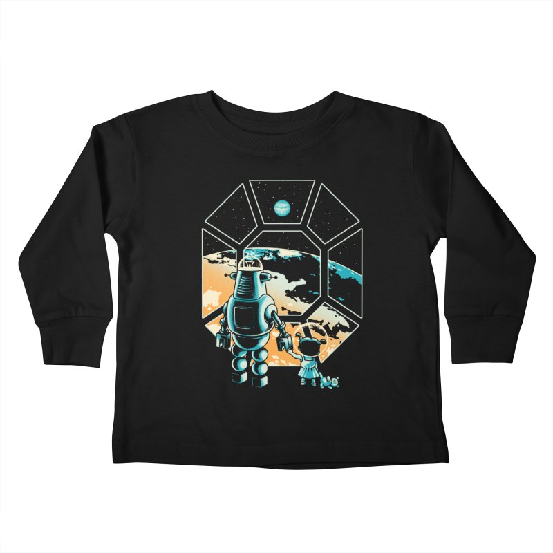 A New Hope Kids Toddler Longsleeve T-Shirt by Santiago Sarquis's Artist Shop