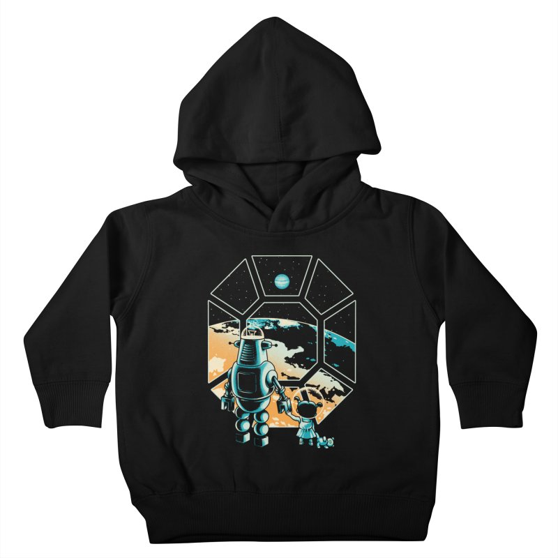A New Hope Kids Toddler Pullover Hoody by Santiago Sarquis's Artist Shop