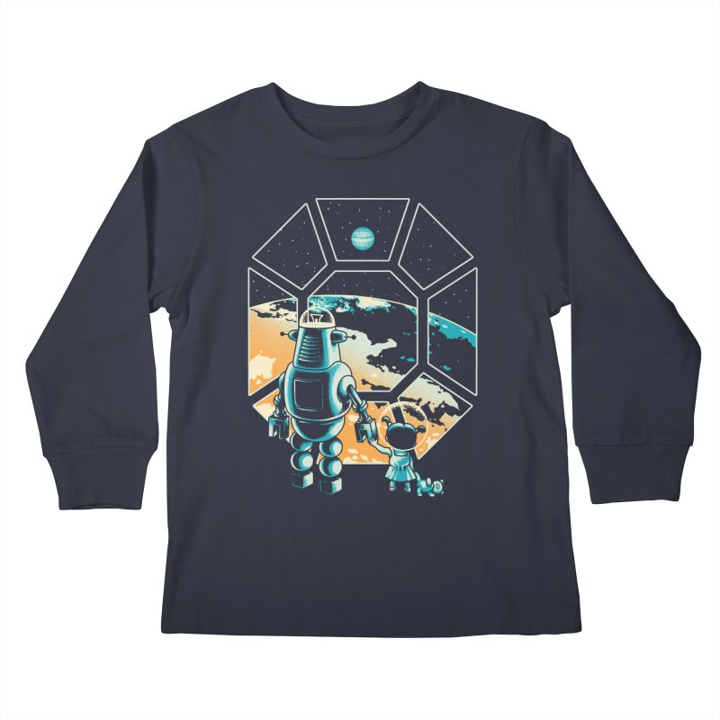 A New Hope Kids Longsleeve T-Shirt by Santiago Sarquis's Artist Shop