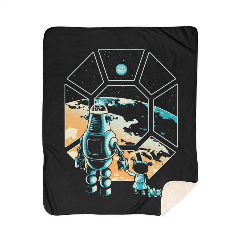A New Hope Home Sherpa Blanket Blanket by Santiago Sarquis's Artist Shop