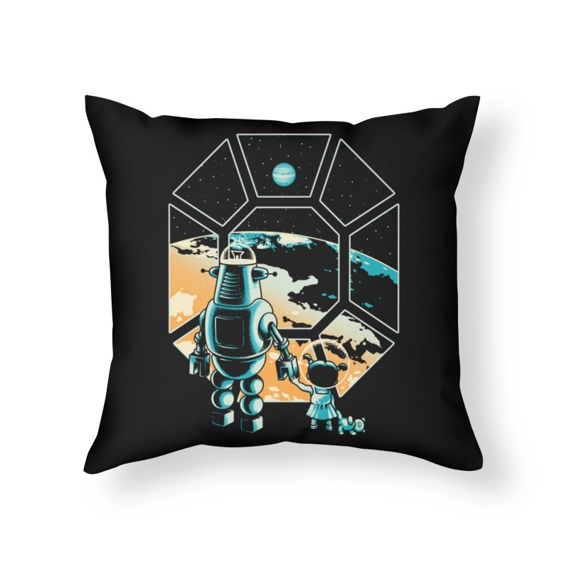 A New Hope Home Throw Pillow by Santiago Sarquis's Artist Shop