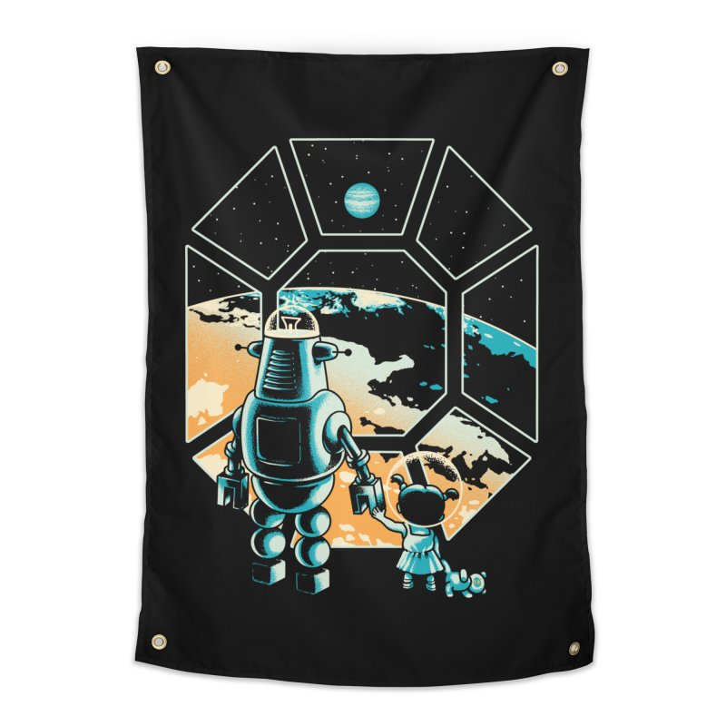 A New Hope Home Tapestry by Santiago Sarquis's Artist Shop