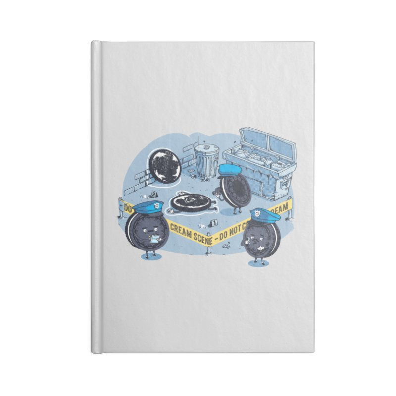 Cream Scene Accessories Notebook by Santiago Sarquis's Artist Shop