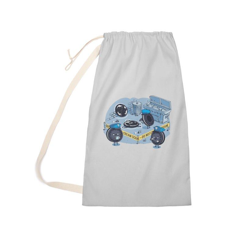 Cream Scene Accessories Bag by Santiago Sarquis's Artist Shop