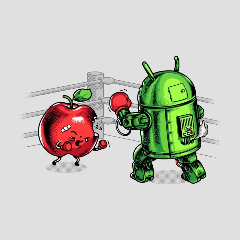 Fruits Vs. Robots None  by Santiago Sarquis's Artist Shop