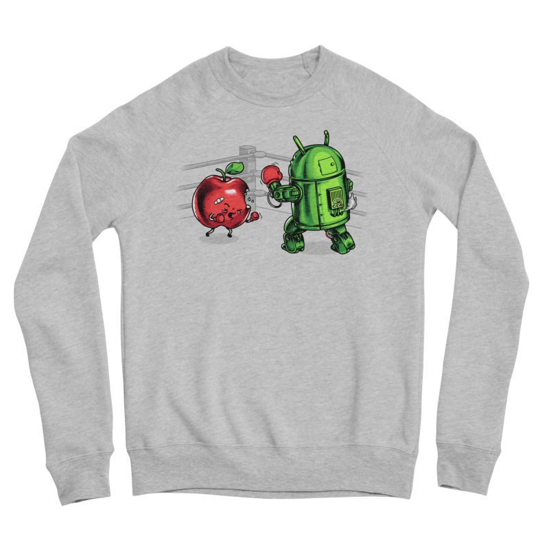 Fruits Vs. Robots Women's Sweatshirt by Santiago Sarquis's Artist Shop