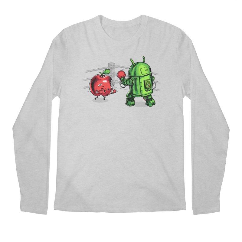 Fruits Vs. Robots Men's Longsleeve T-Shirt by metalsan's Artist Shop