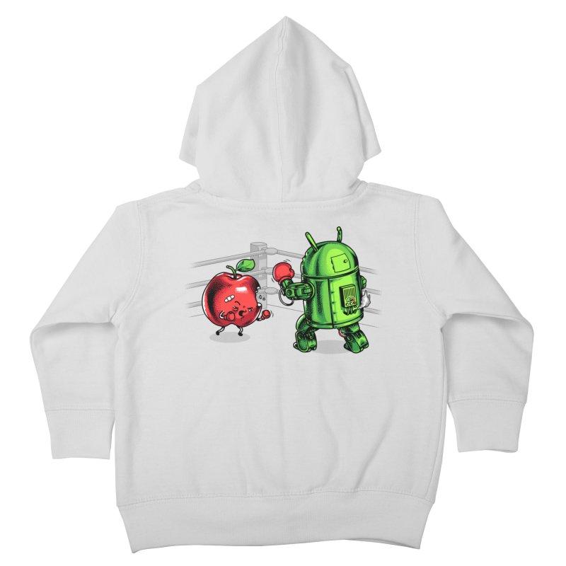 Fruits Vs. Robots Kids Toddler Zip-Up Hoody by metalsan's Artist Shop
