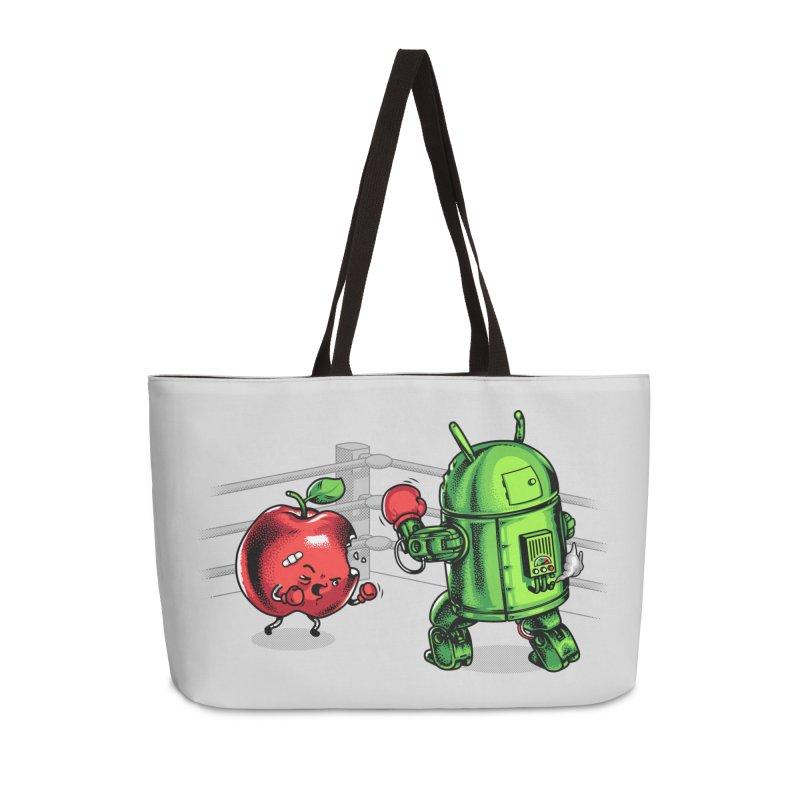 Fruits Vs. Robots Accessories Bag by Santiago Sarquis's Artist Shop