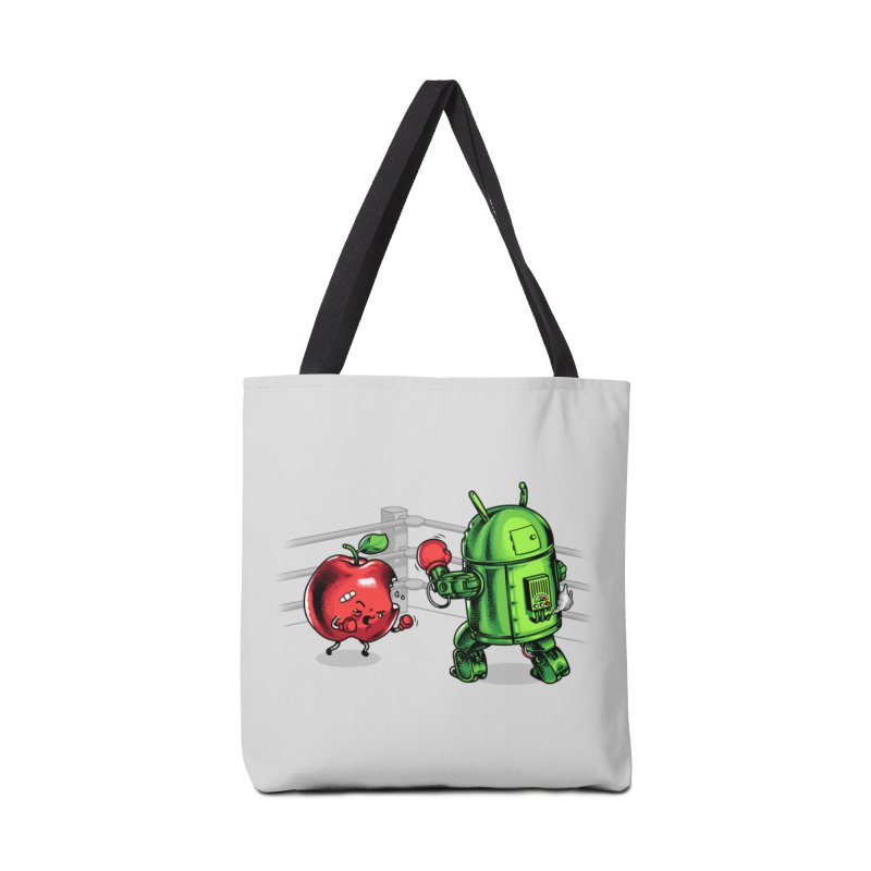 Fruits Vs. Robots Accessories Bag by Santiago Sarquis's Artist Shop