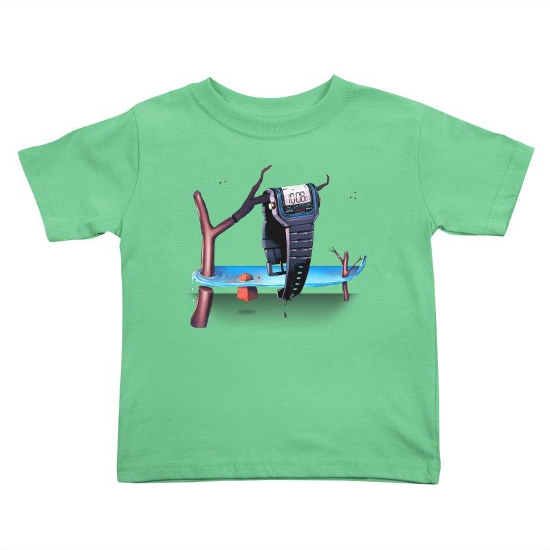 La Persistencia de la Memoria Kids Toddler T-Shirt by metalsan's Artist Shop