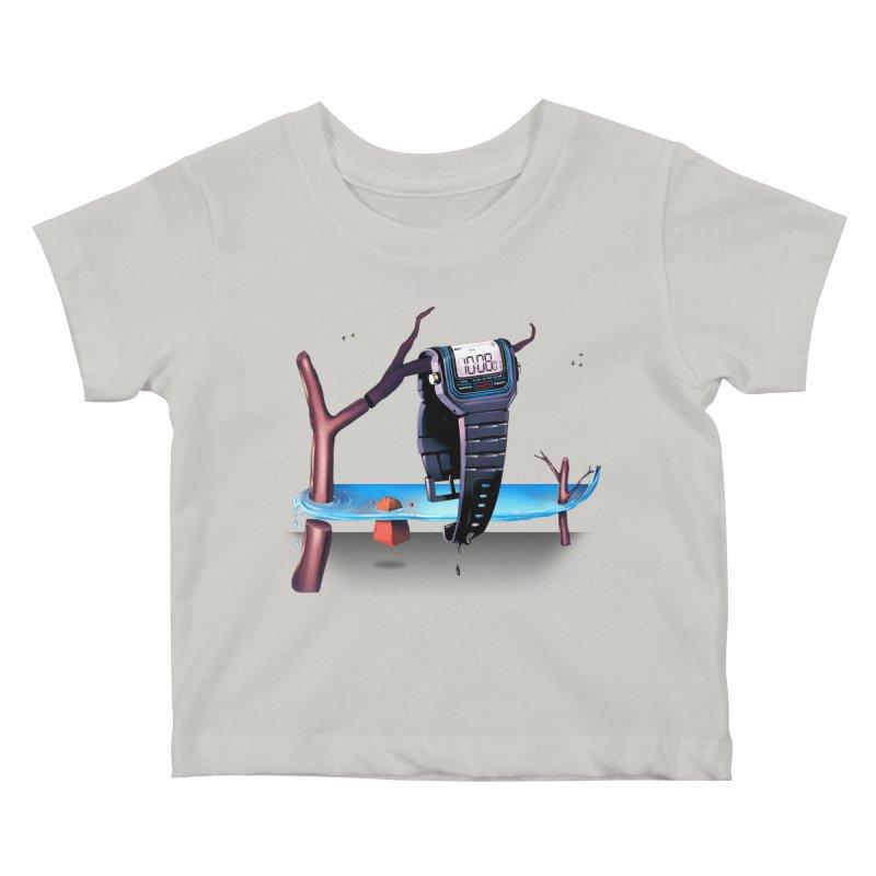 La Persistencia de la Memoria Kids Baby T-Shirt by metalsan's Artist Shop