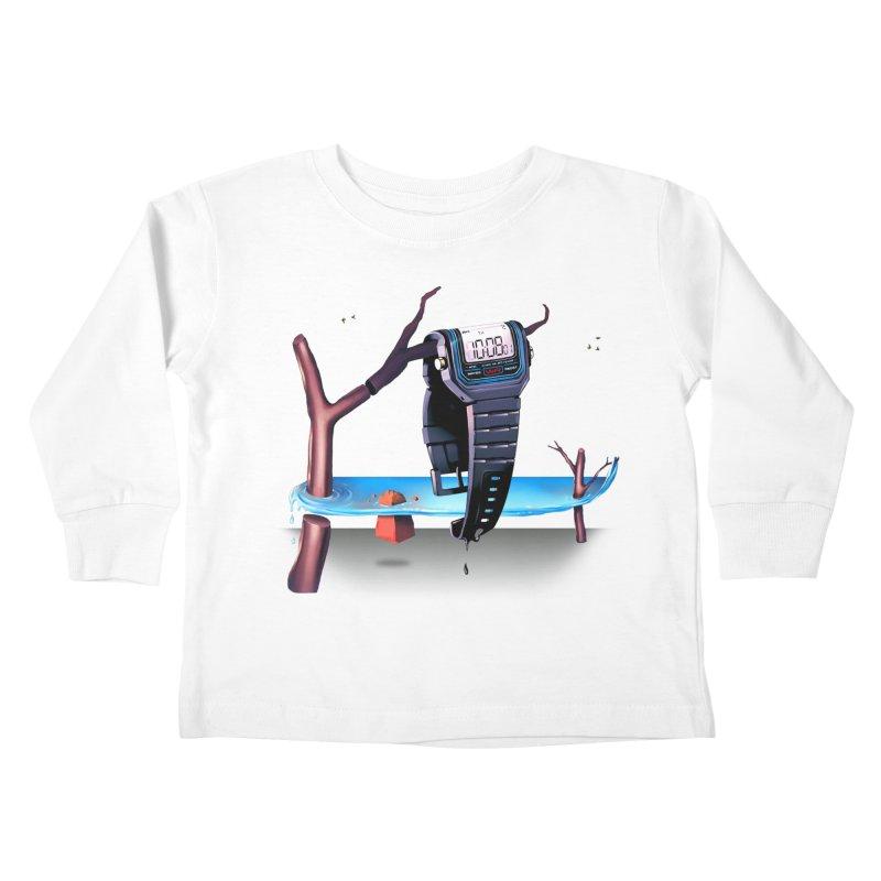 La Persistencia de la Memoria Kids Toddler Longsleeve T-Shirt by metalsan's Artist Shop