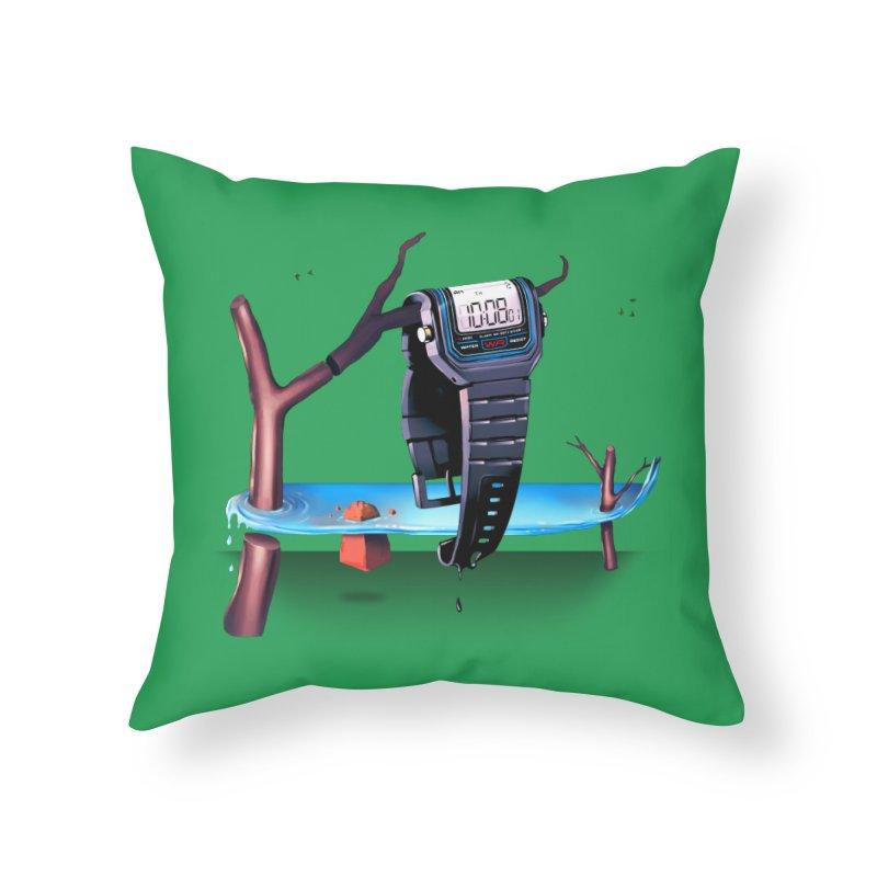 La Persistencia de la Memoria Home Throw Pillow by metalsan's Artist Shop