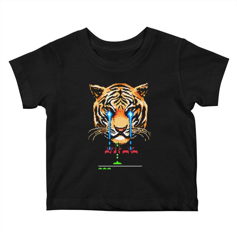 The Invaders Must Die Kids Baby T-Shirt by metalsan's Artist Shop