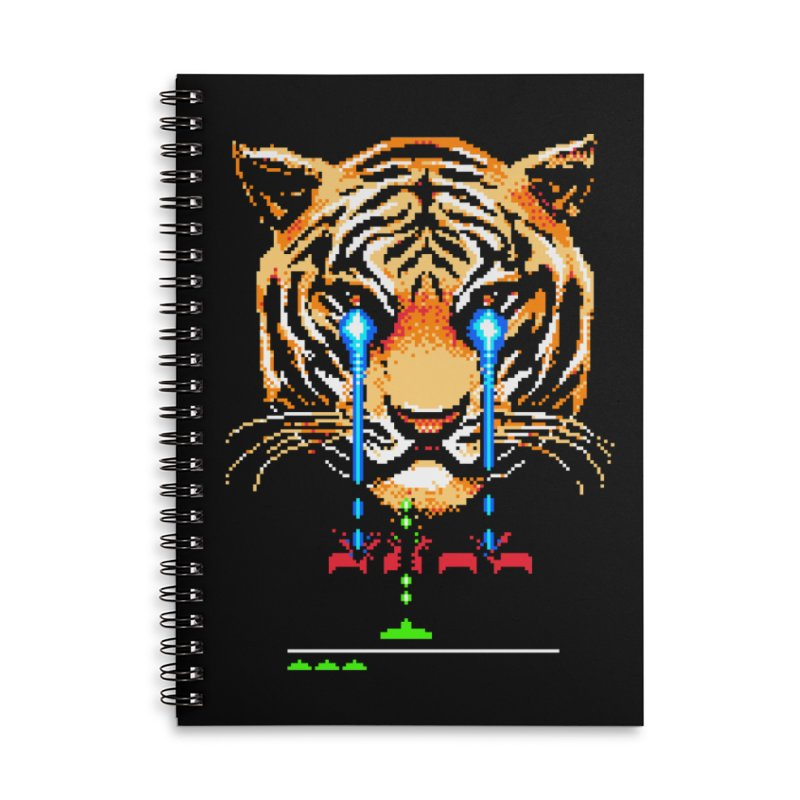 The Invaders Must Die Accessories Notebook by Santiago Sarquis's Artist Shop