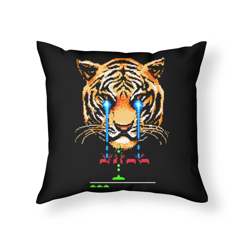 The Invaders Must Die Home Throw Pillow by Santiago Sarquis's Artist Shop