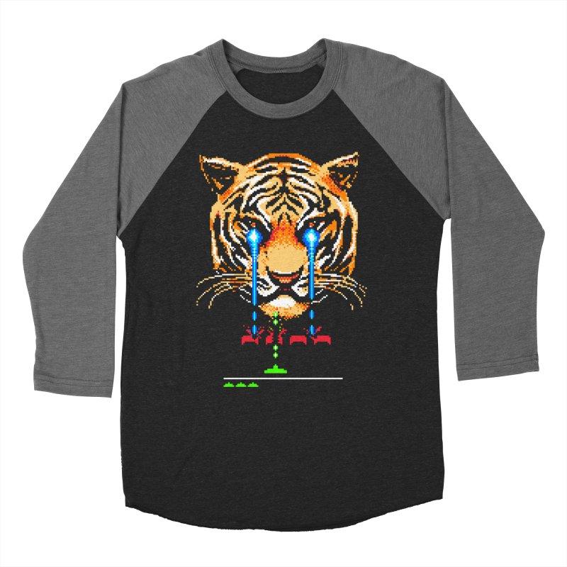 The Invaders Must Die Women's Baseball Triblend Longsleeve T-Shirt by Santiago Sarquis's Artist Shop