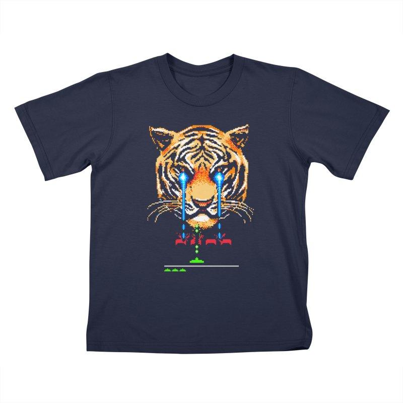 The Invaders Must Die Kids T-Shirt by Santiago Sarquis's Artist Shop