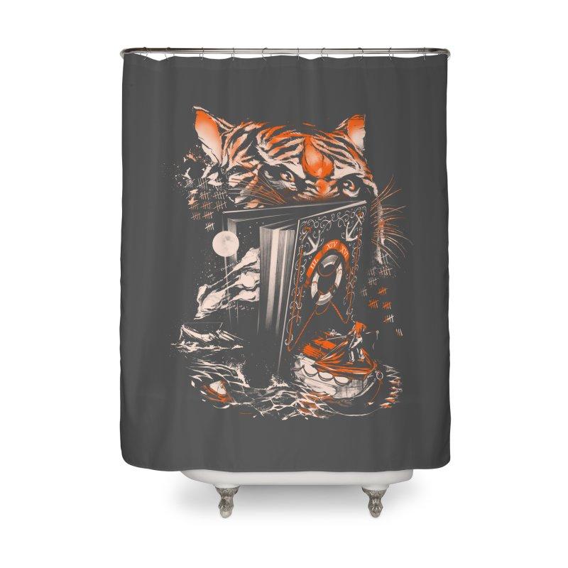 II XIV XVI Home Shower Curtain by Santiago Sarquis's Artist Shop