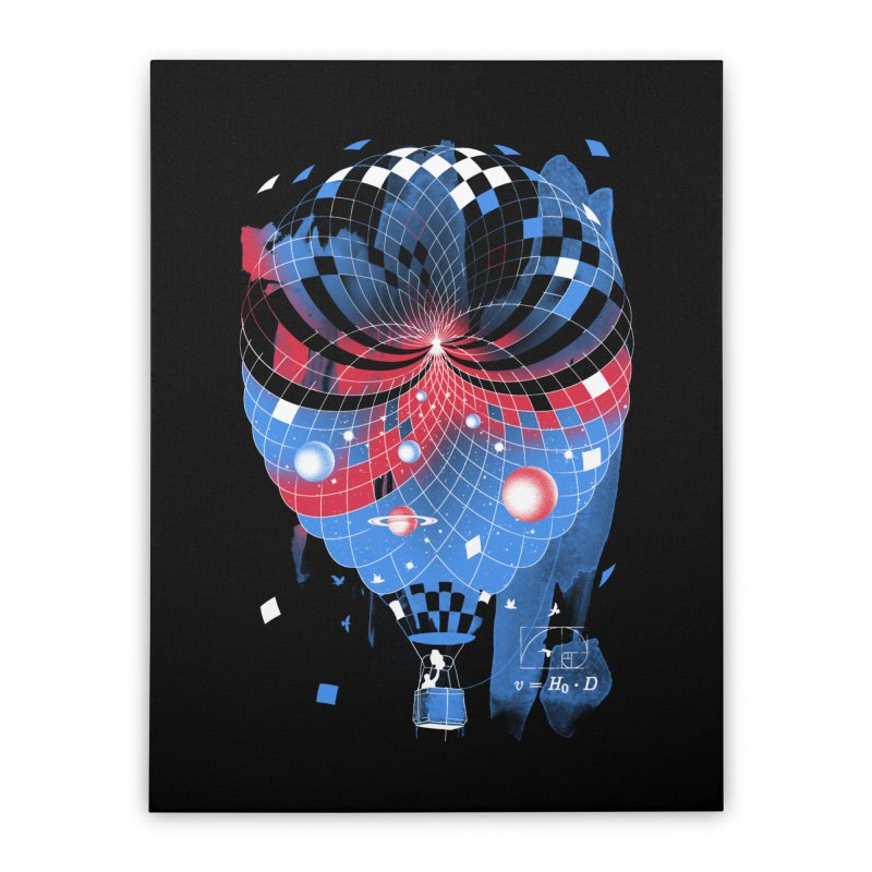 The Big Bang Home Stretched Canvas by metalsan's Artist Shop