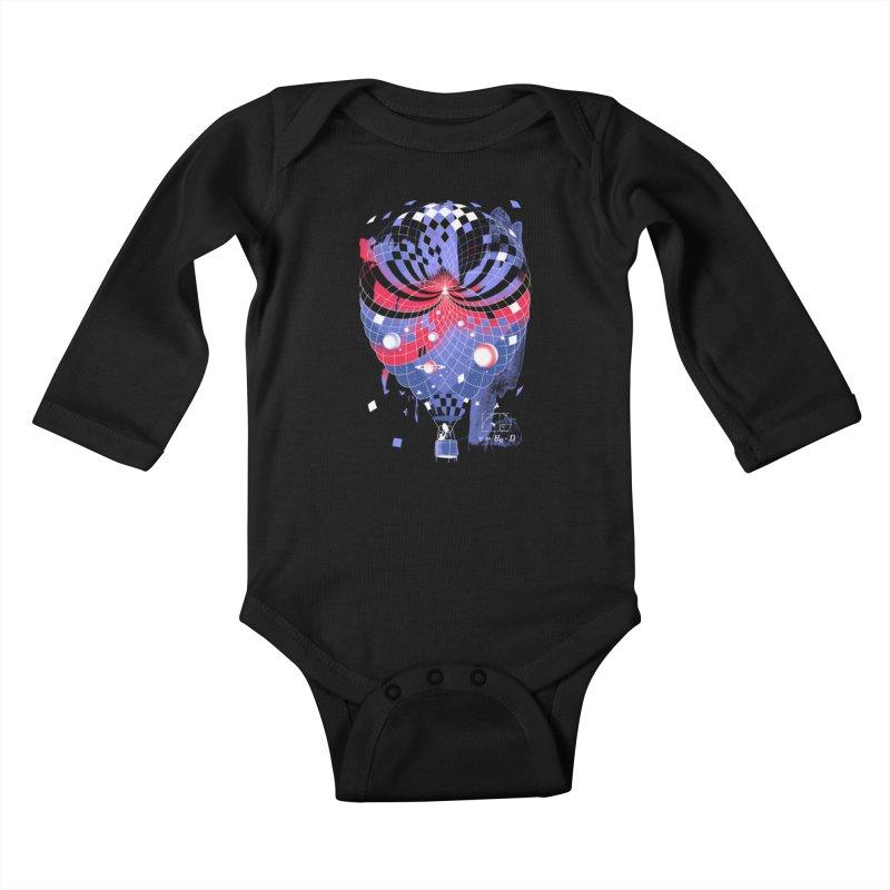 The Big Bang Kids Baby Longsleeve Bodysuit by metalsan's Artist Shop