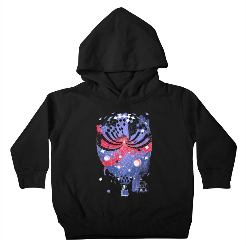 The Big Bang Kids Toddler Pullover Hoody by metalsan's Artist Shop