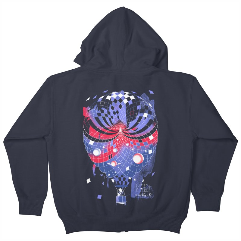The Big Bang Kids Zip-Up Hoody by metalsan's Artist Shop