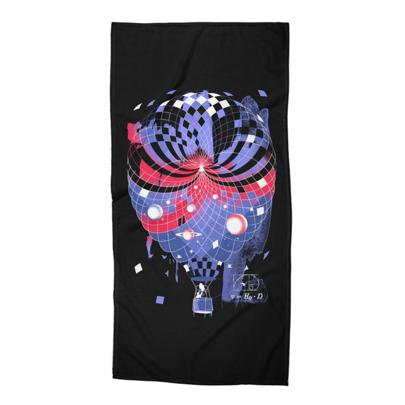 The Big Bang Accessories Beach Towel by Santiago Sarquis's Artist Shop