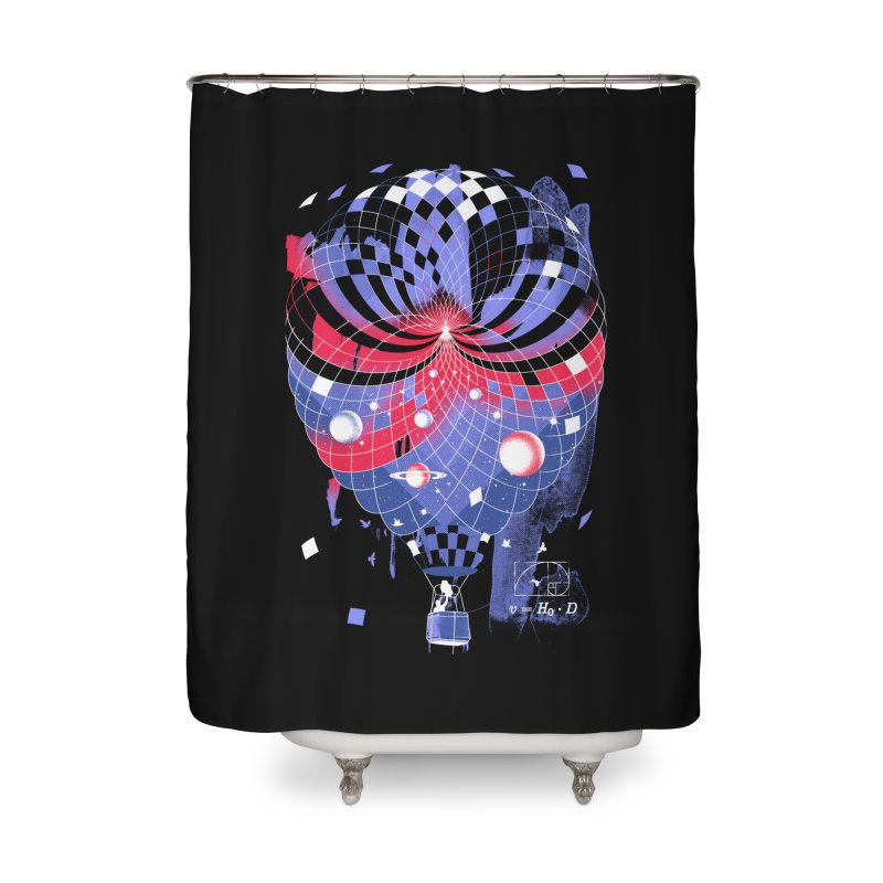 The Big Bang Home Shower Curtain by metalsan's Artist Shop