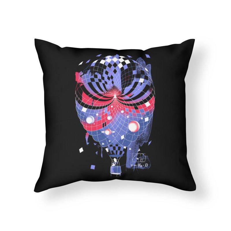 The Big Bang Home Throw Pillow by metalsan's Artist Shop
