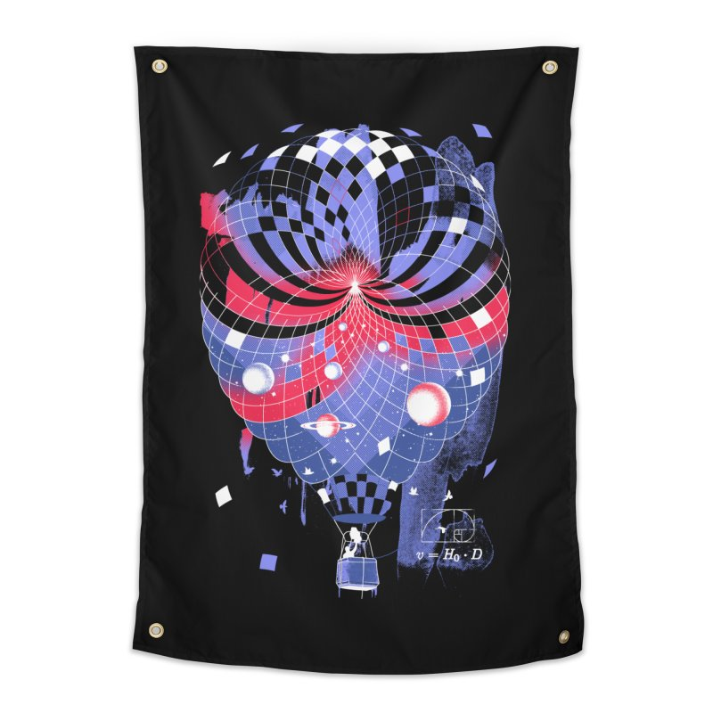 The Big Bang Home Tapestry by metalsan's Artist Shop