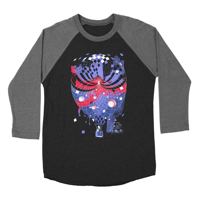 The Big Bang Women's Baseball Triblend Longsleeve T-Shirt by Santiago Sarquis's Artist Shop
