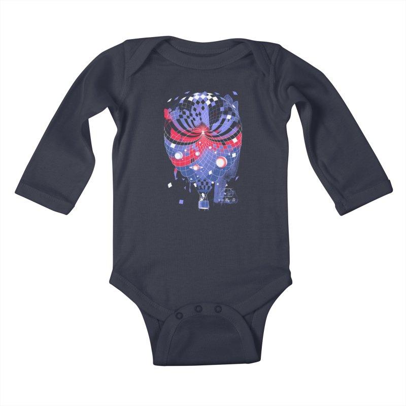 The Big Bang Kids Baby Longsleeve Bodysuit by Santiago Sarquis's Artist Shop