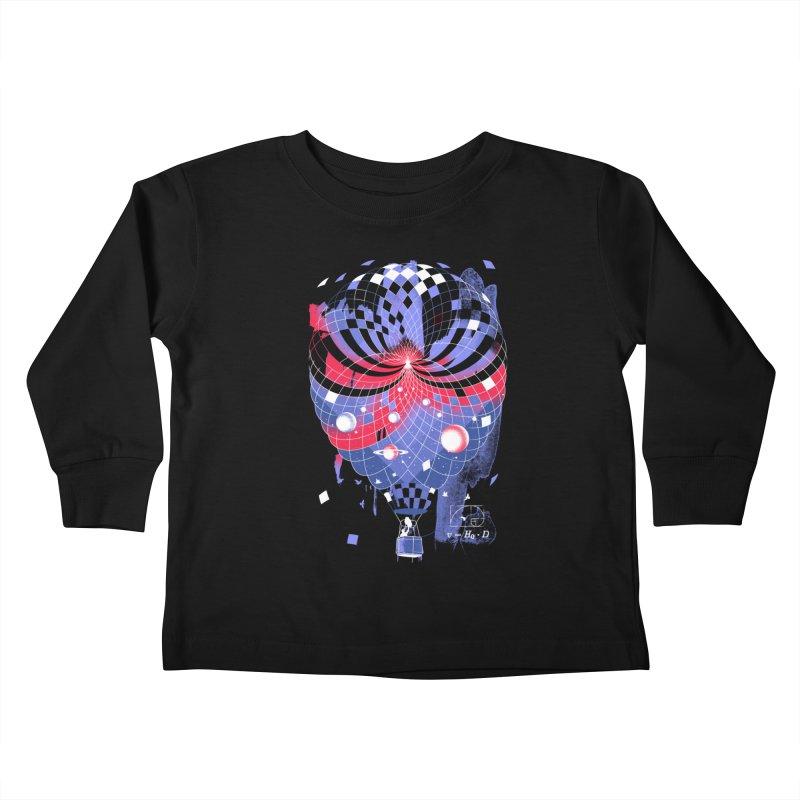 The Big Bang Kids Toddler Longsleeve T-Shirt by Santiago Sarquis's Artist Shop