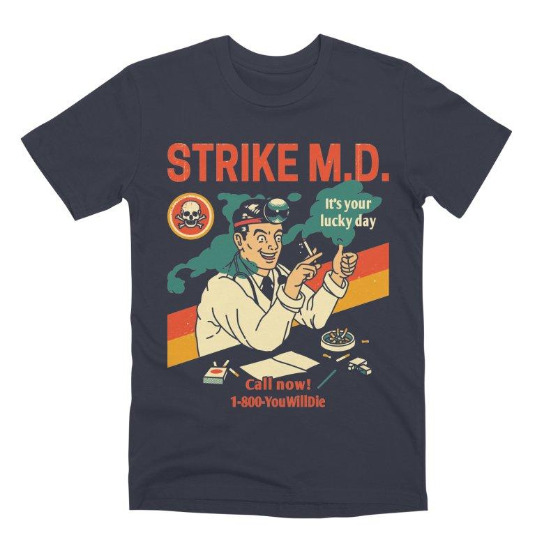 Strike M.D Men's Premium T-Shirt by Santiago Sarquis's Artist Shop
