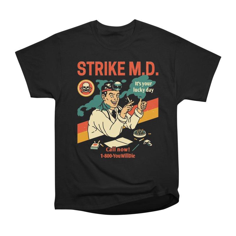 Strike M.D Men's Heavyweight T-Shirt by Santiago Sarquis's Artist Shop