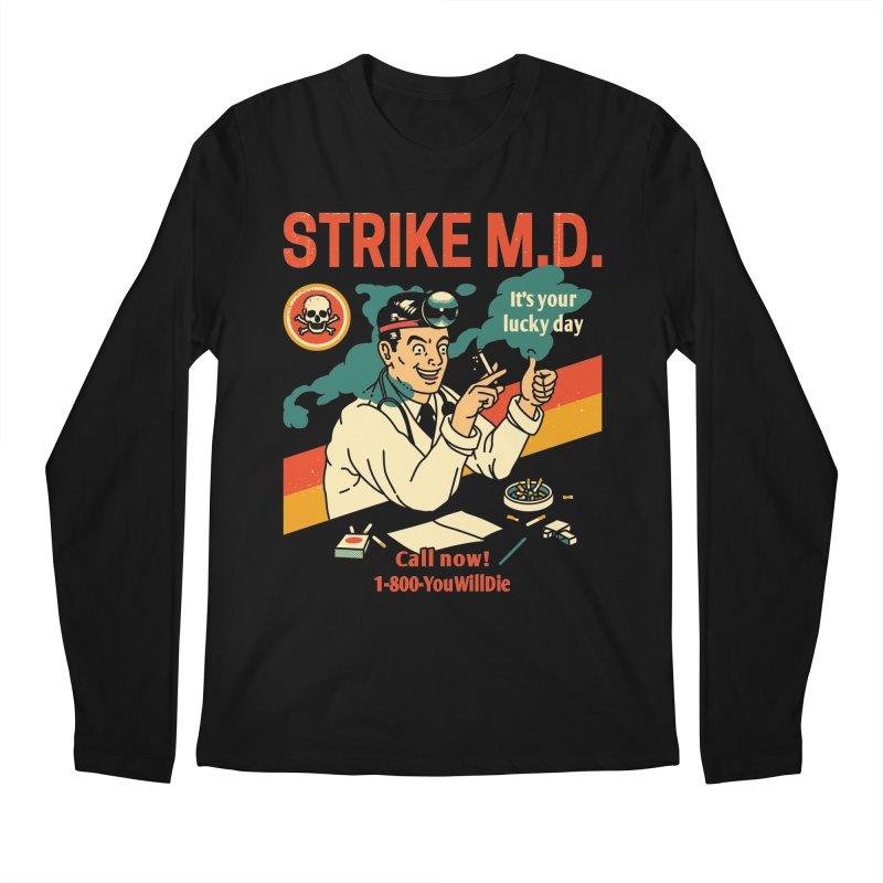 Strike M.D Men's Regular Longsleeve T-Shirt by Santiago Sarquis's Artist Shop