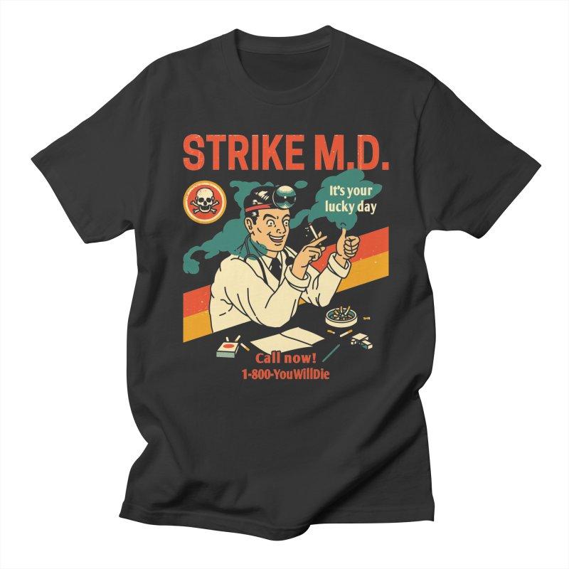 Strike M.D Men's T-Shirt by Santiago Sarquis's Artist Shop
