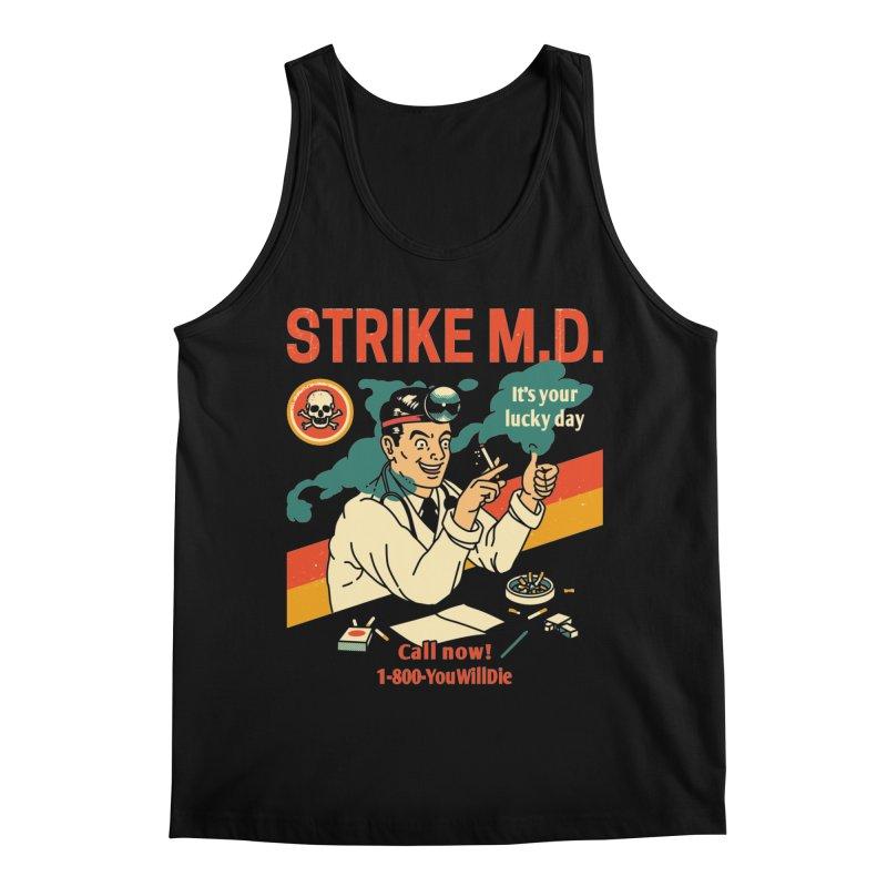 Strike M.D Men's Regular Tank by Santiago Sarquis's Artist Shop