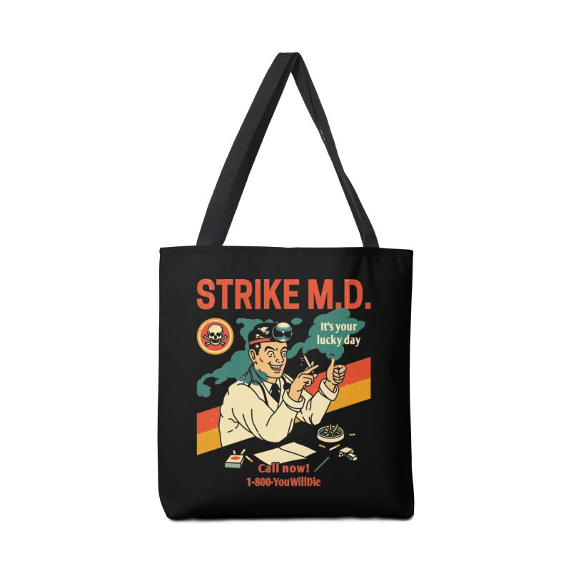 Strike M.D Accessories Bag by Santiago Sarquis's Artist Shop