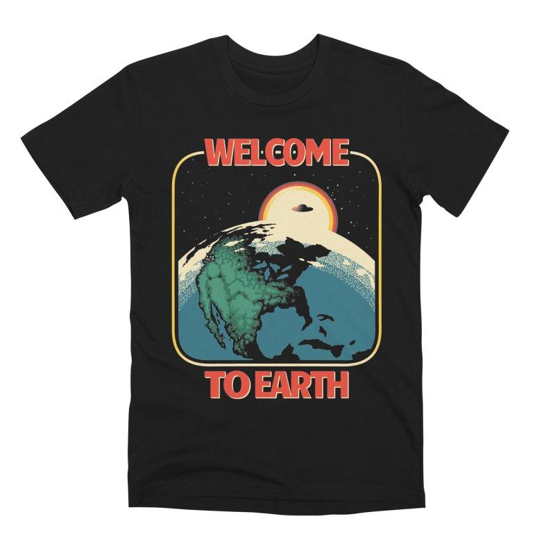 Welcome to Earth Men's Premium T-Shirt by Santiago Sarquis's Artist Shop