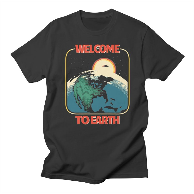 Welcome to Earth Men's T-Shirt by Santiago Sarquis's Artist Shop