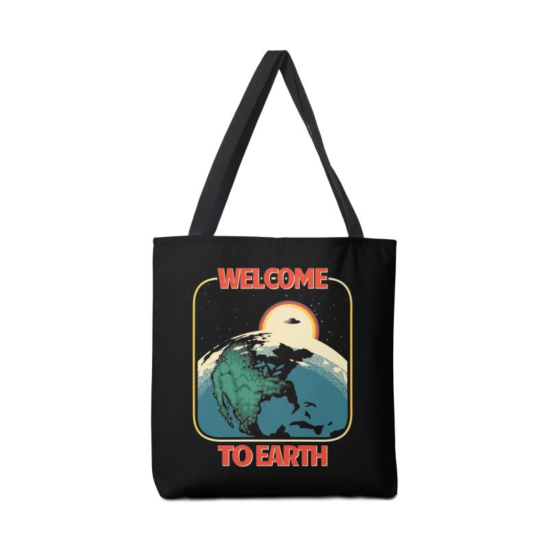 Welcome to Earth Accessories Tote Bag Bag by Santiago Sarquis's Artist Shop