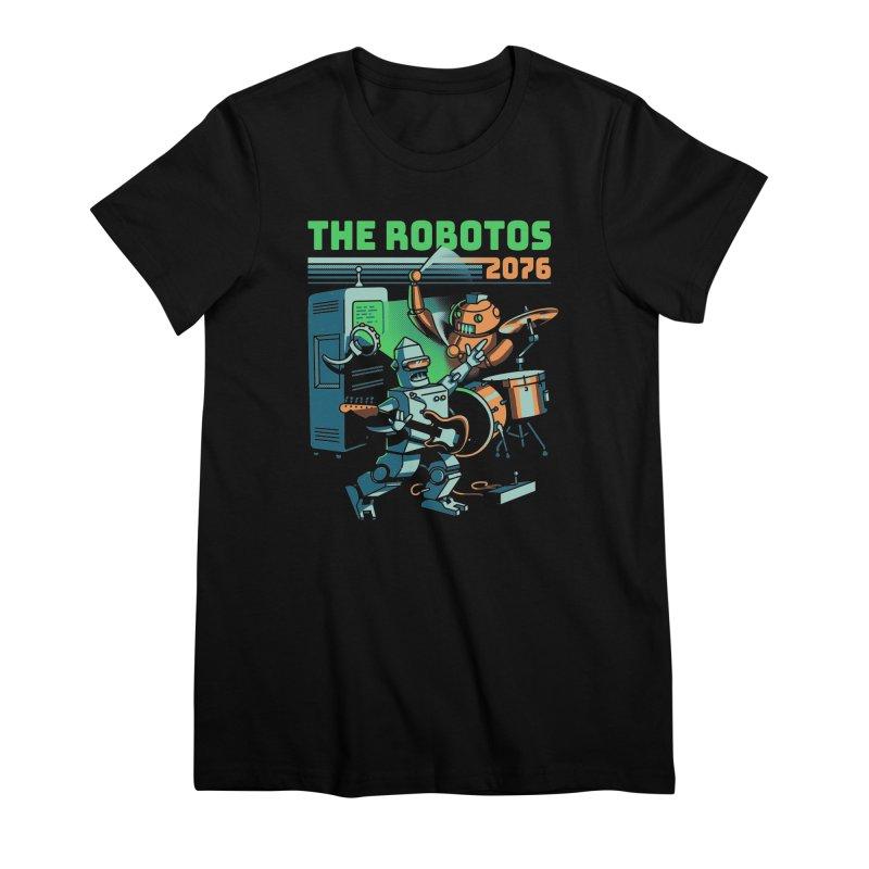 The Robotos Women's T-Shirt by Santiago Sarquis's Artist Shop