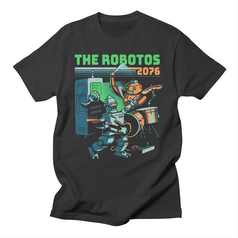 The Robotos Men's T-Shirt by Santiago Sarquis's Artist Shop