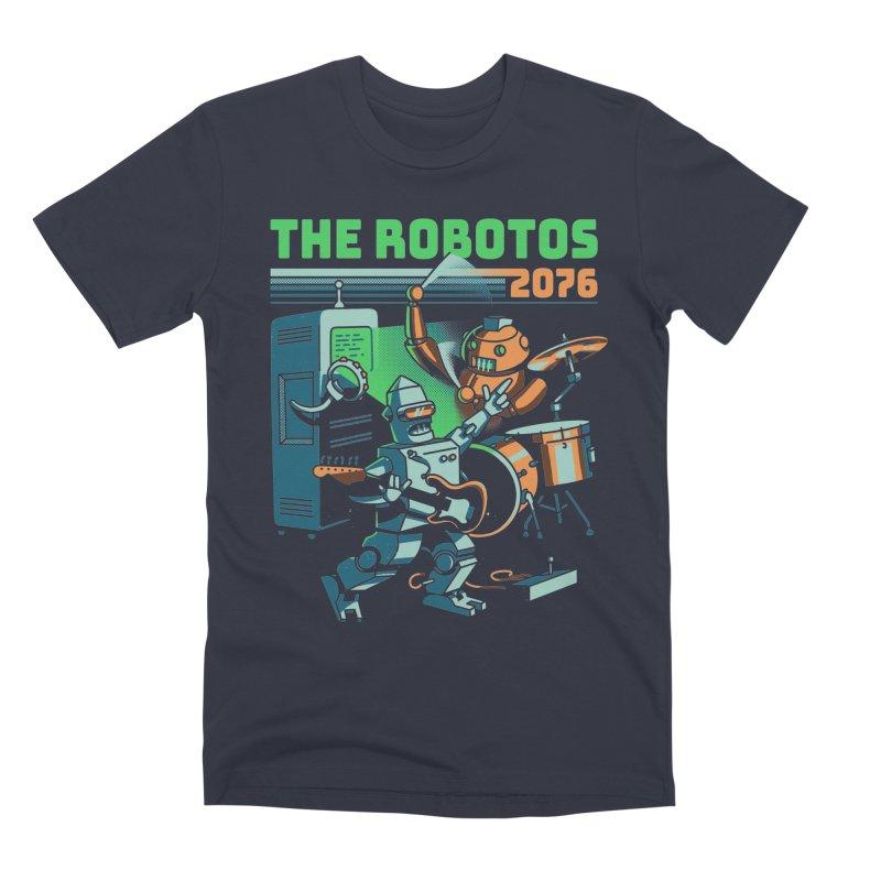 The Robotos Men's Premium T-Shirt by Santiago Sarquis's Artist Shop