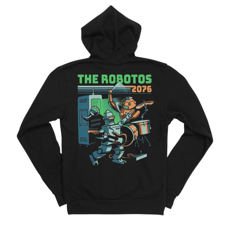 The Robotos Women's Sponge Fleece Zip-Up Hoody by Santiago Sarquis's Artist Shop