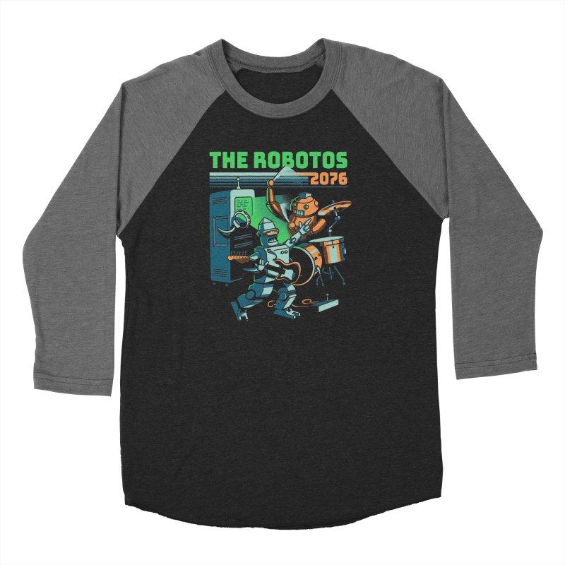 The Robotos Men's Longsleeve T-Shirt by Santiago Sarquis's Artist Shop